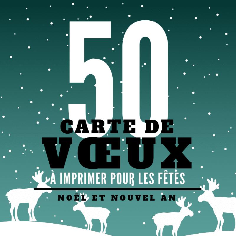 Top 50 De Nos Plus Belles Cartes De Noel Et De Nouvel An Canva