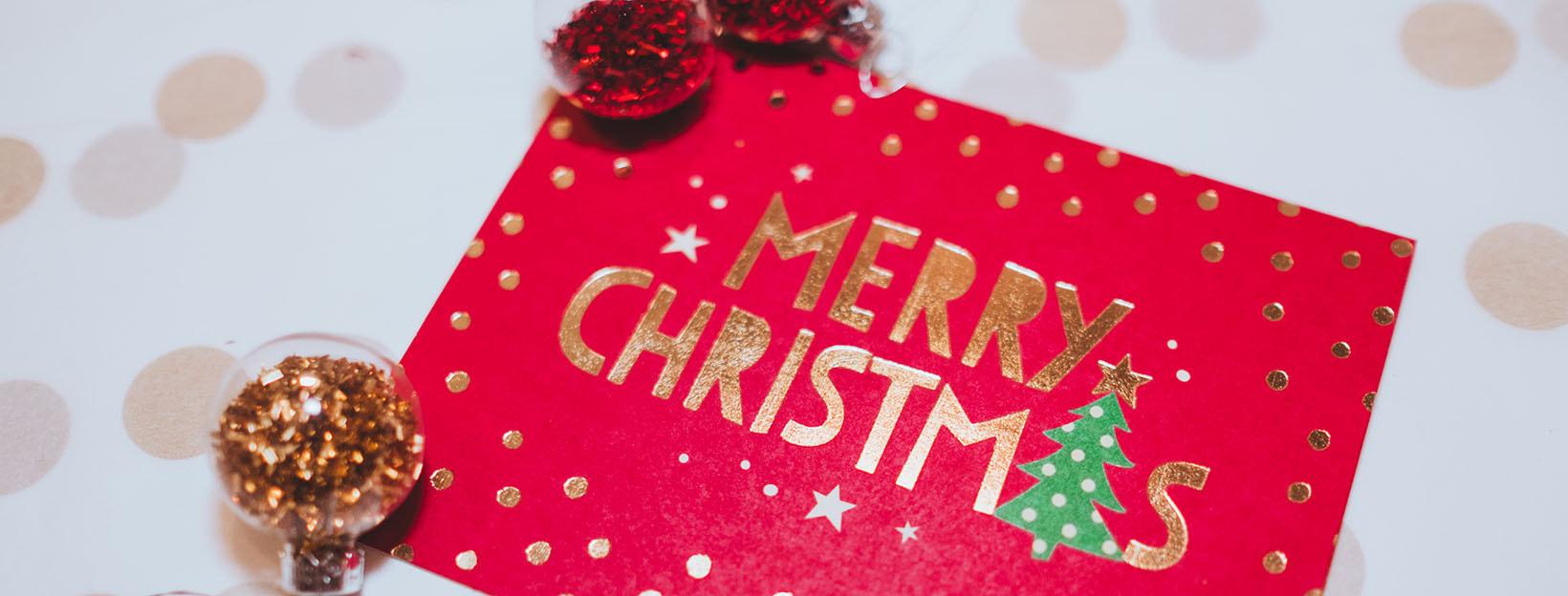 Weihnachtskarten für die Weihnachtspost