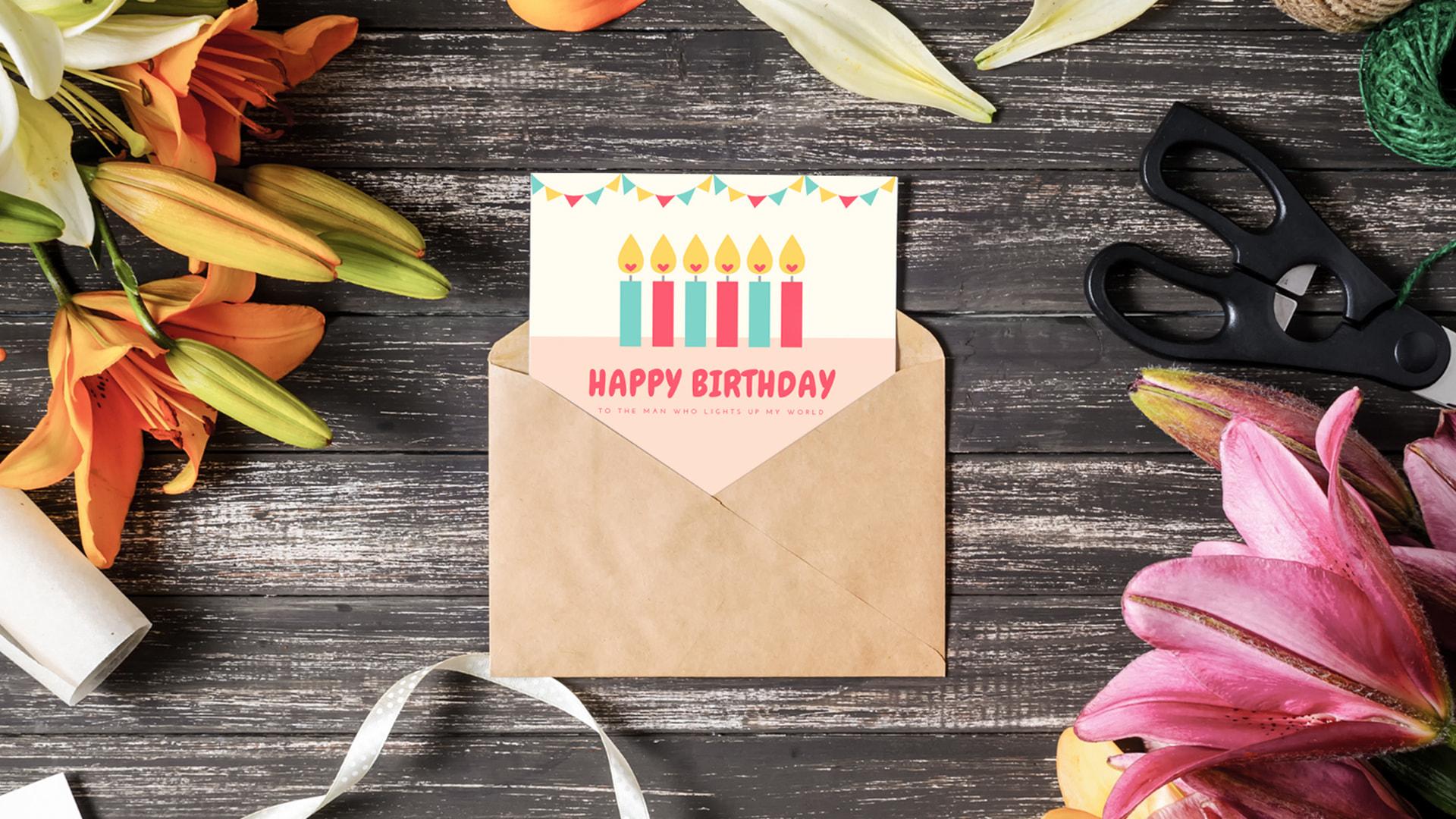 canva, carte d'anniversaire, invitation d'anniversaire, invitation