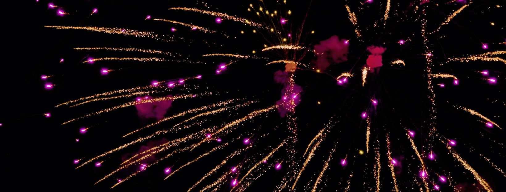 Großes Feuerwerk: Silvester und Neujahr 2019/2020