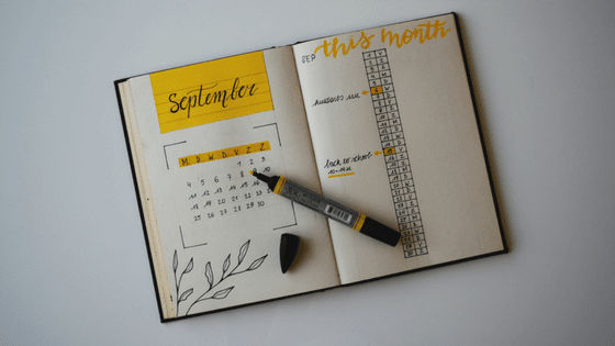 Réaliser son bullet journal