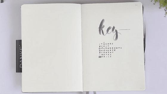 bullet-journal-key