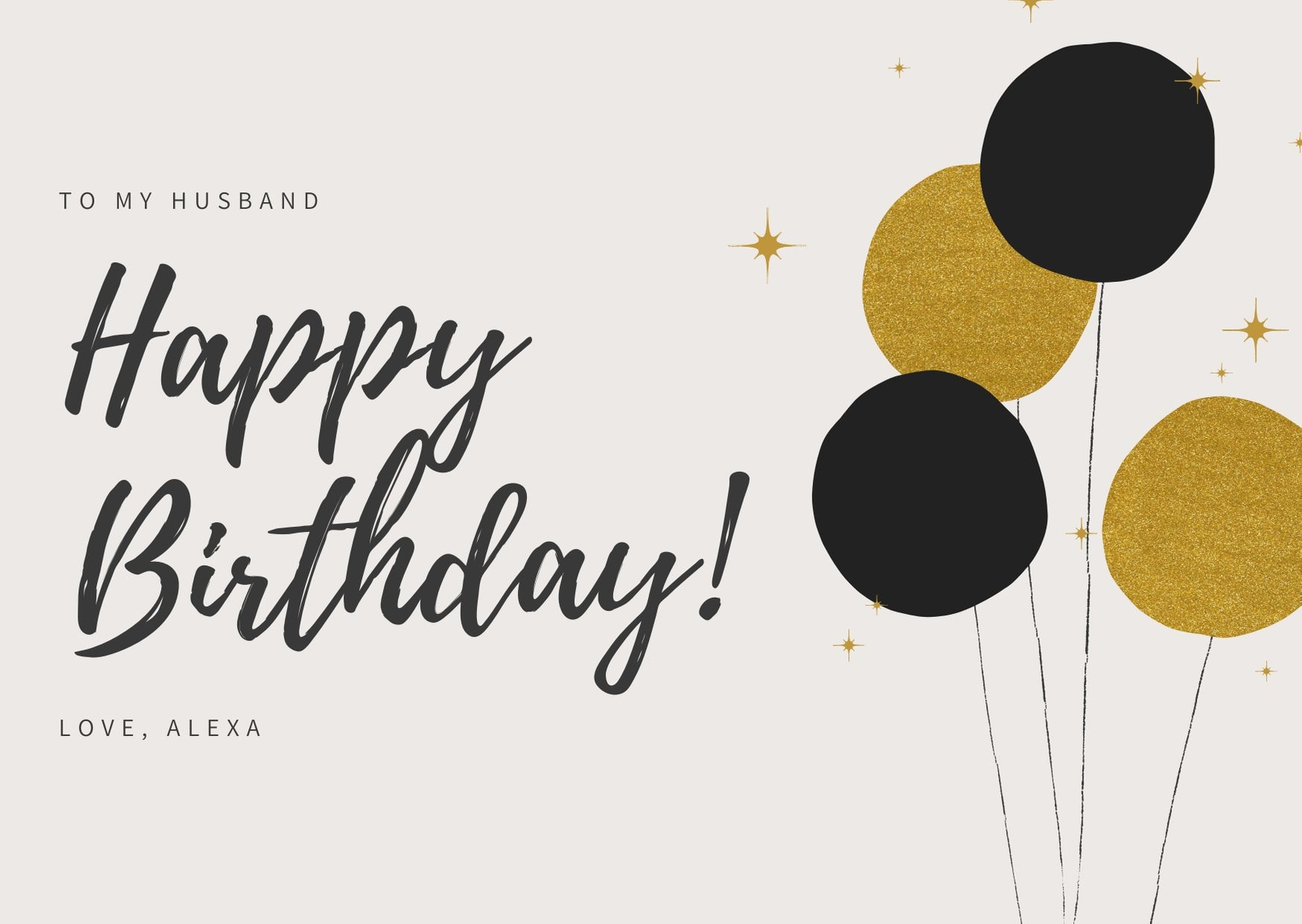 Geburtstagskarte gestalten und ausdrucken