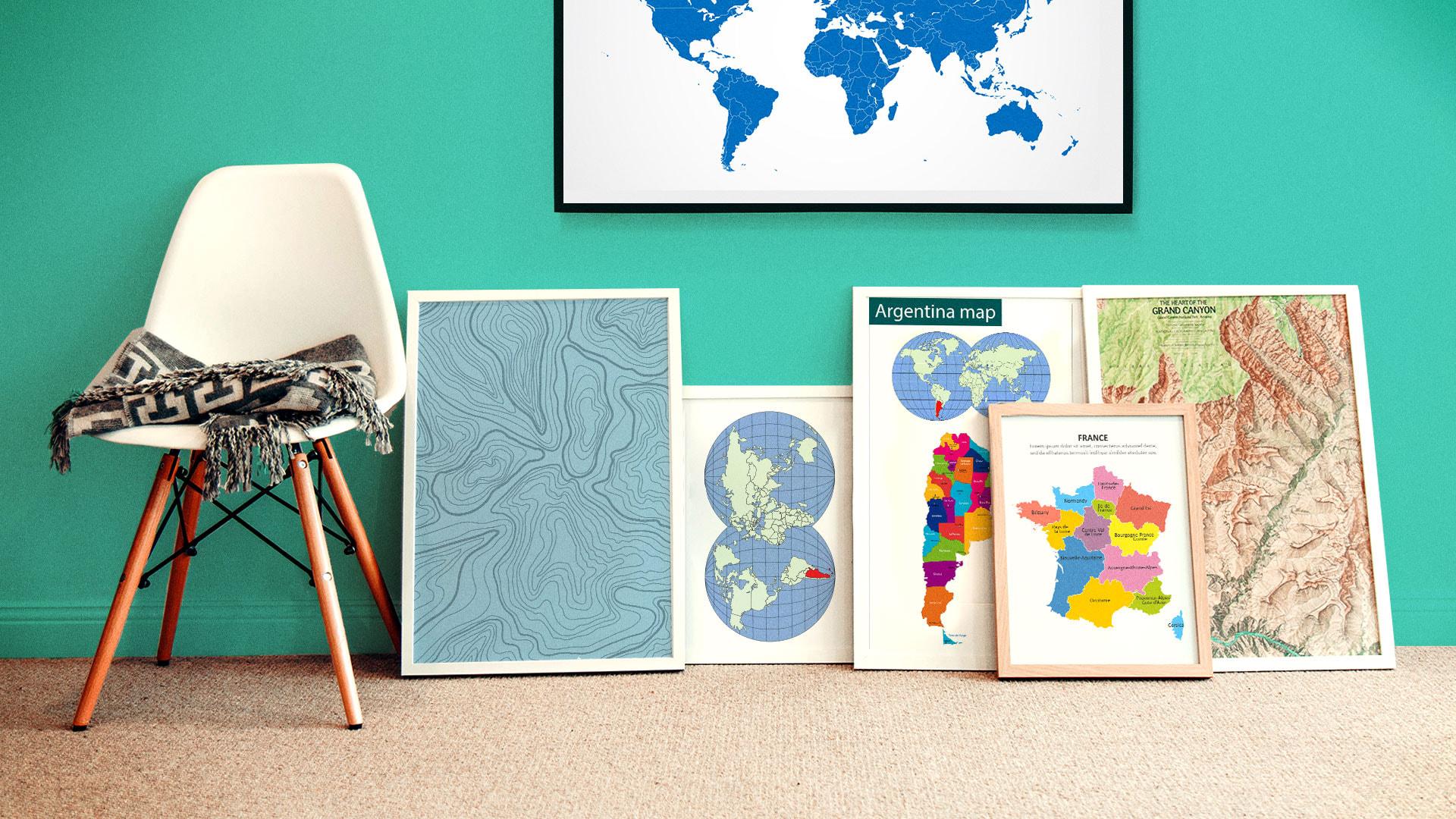 canva,carte du monde,carte de france,carte d'europe