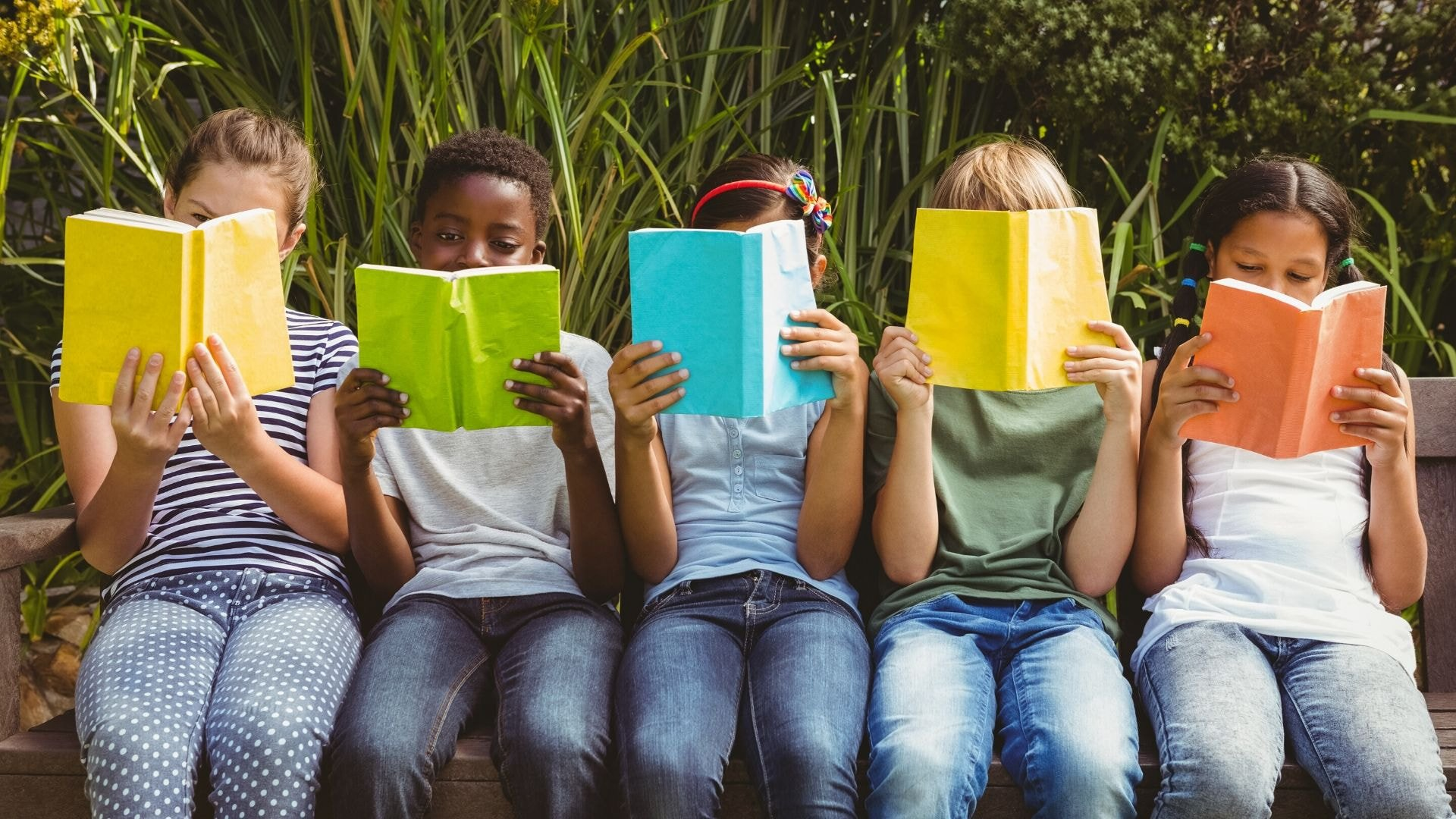 canva, livre, enfants