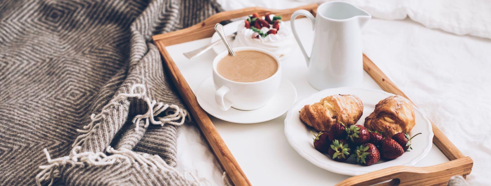 Frühstück im Bett: Positive Guten Morgen Bilder