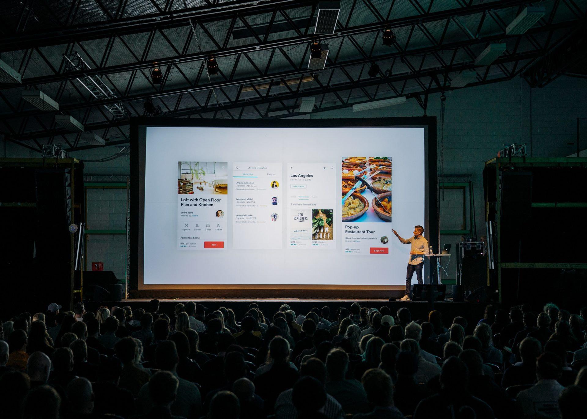 как сделать презентацию баннер