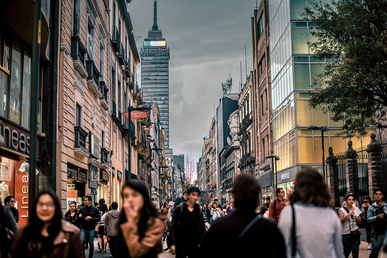 Pasea por la ciudad