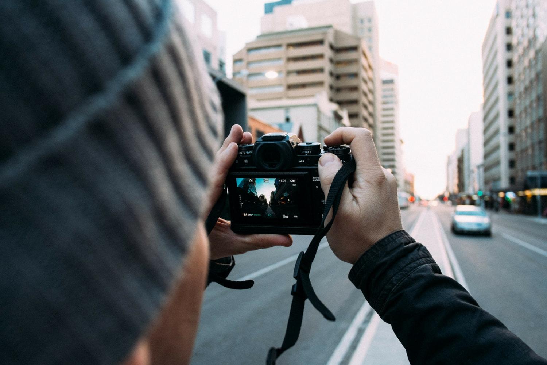 Toma fotografías