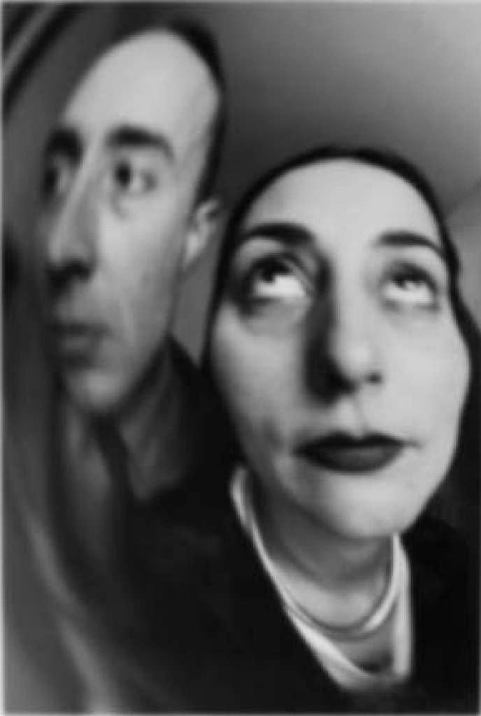 Autorretrato con espejos deformantes