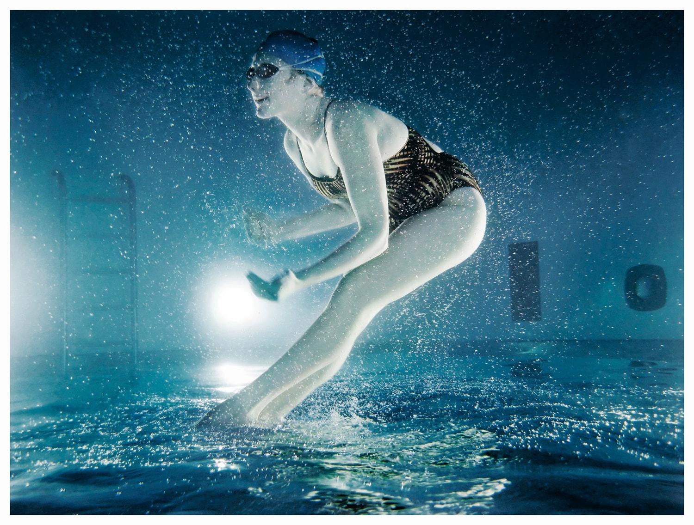 Nadadora artística