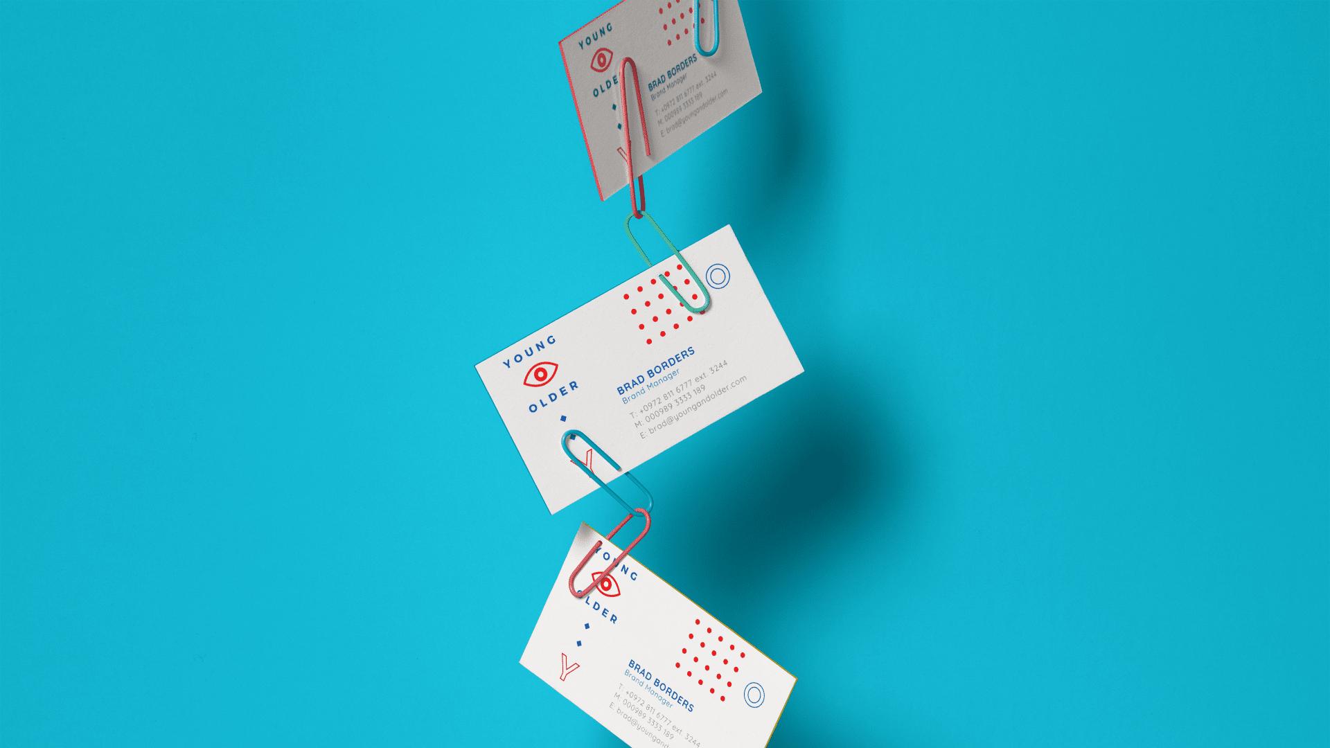diseño tarjetas de presentación