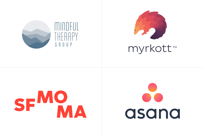 Tendencias de diseño en logos