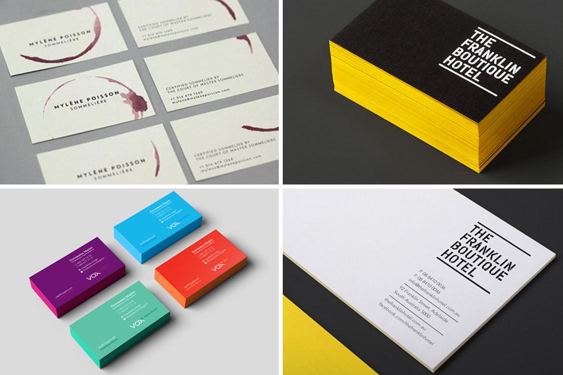 Tendencias en diseño de tarjetas de presentación