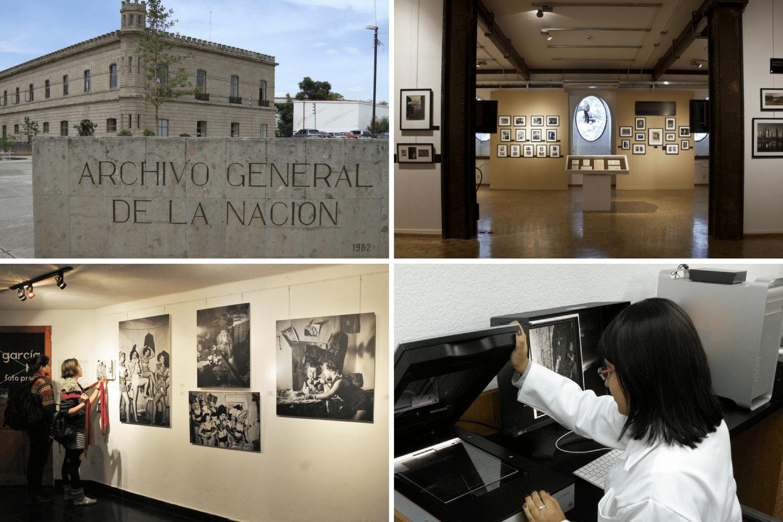 Archivo General de la Nación, Museo El Estanquillo, Fundación María y Héctor García y Fundación ICA