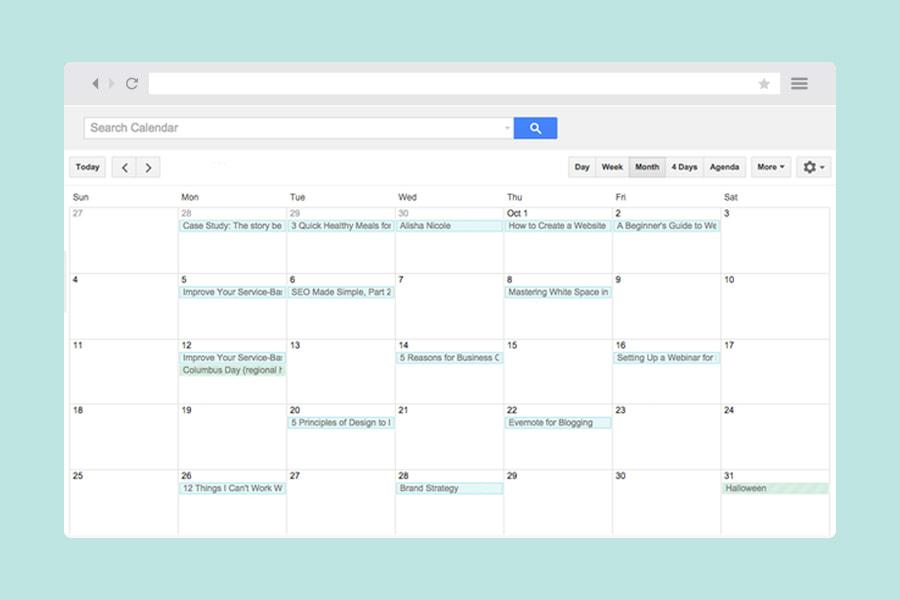 Organízate y planea