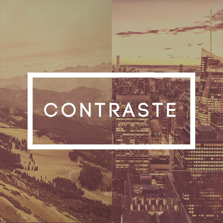 Diseño con contraste