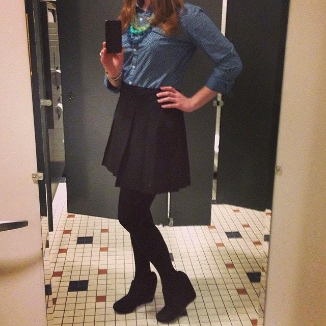 Selfie en el baño