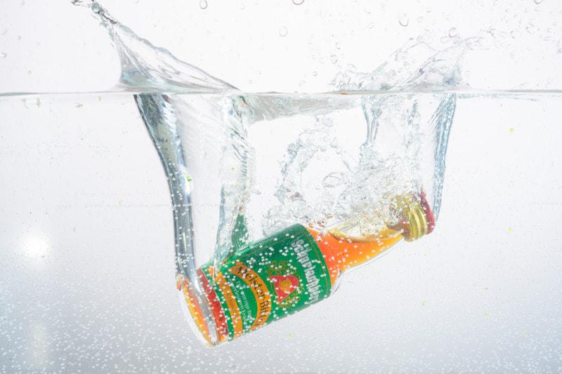 Bebida y líquidos en movimiento