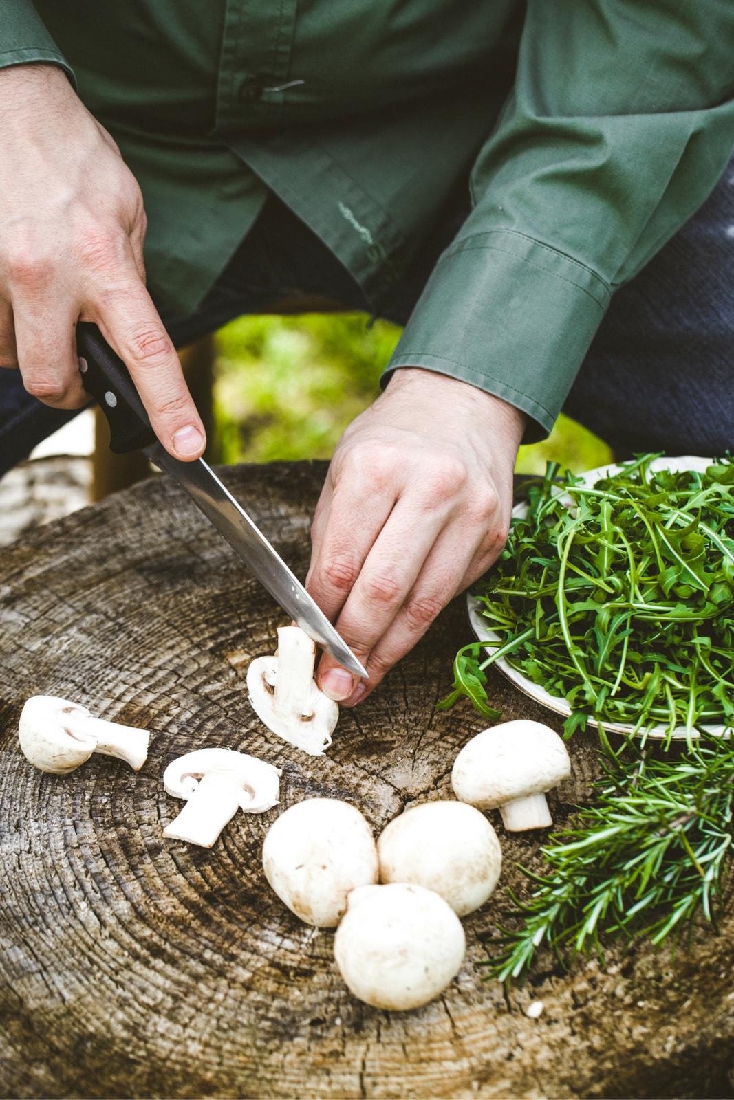 Captura el proceso de trabajo de un chef