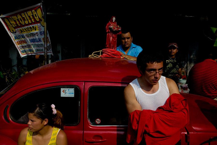 La Santa Muerte en Tepito