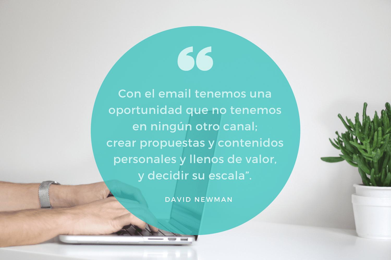 El email es una oportunidad de marketing
