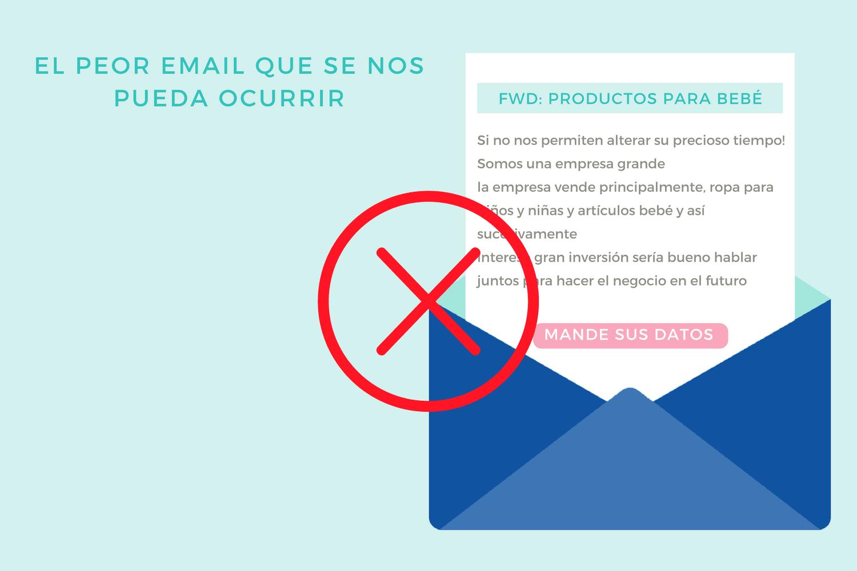 El peor email que se nos puede ocurrir
