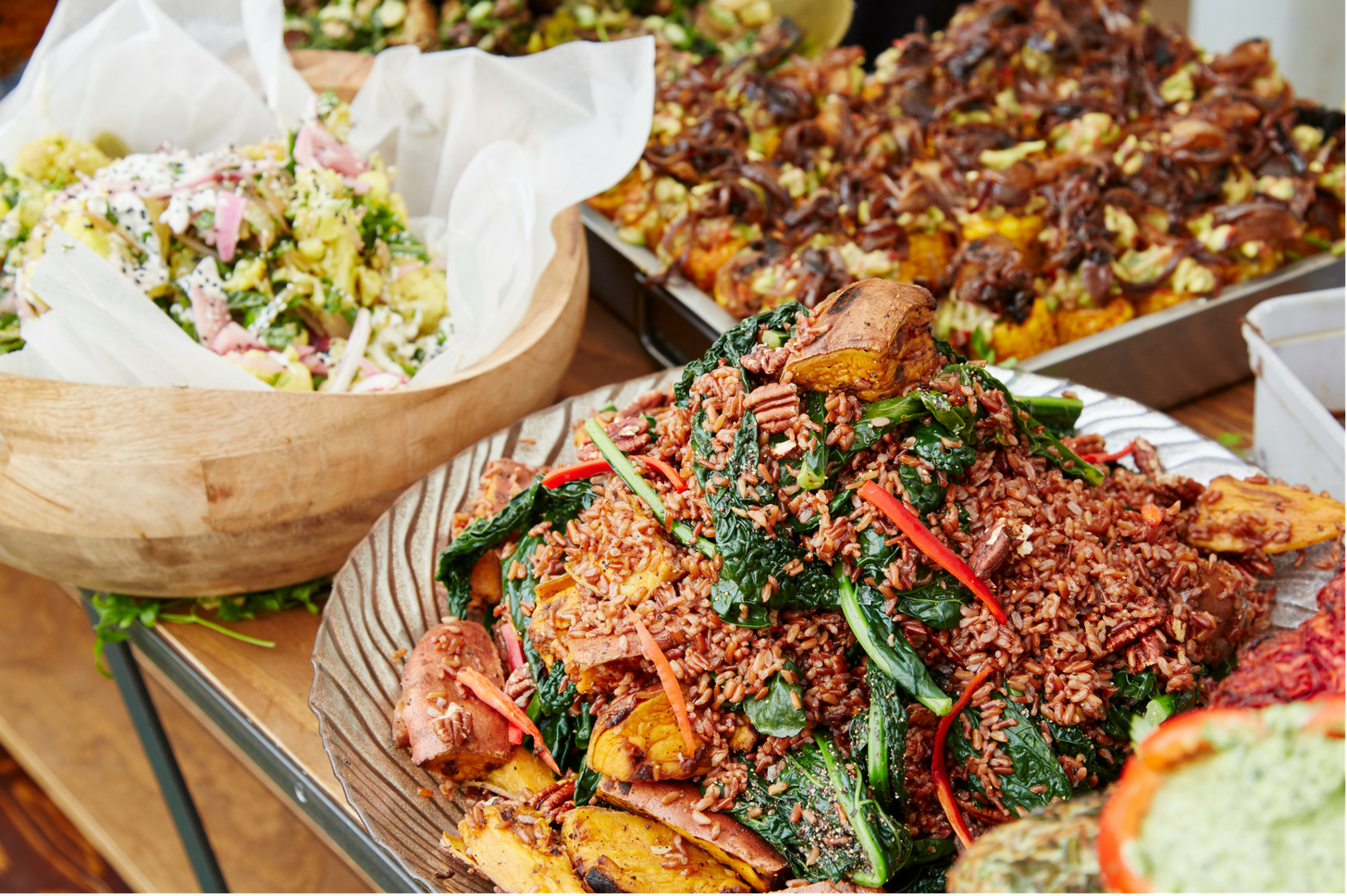 Evita las fotos saturadas de comida