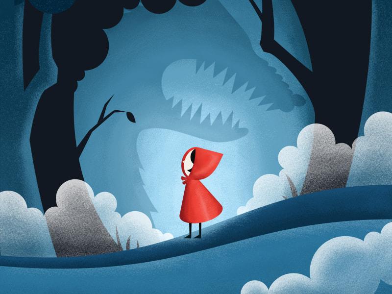 El lobo puede engañar a Caperucita Roja, pero no al lector