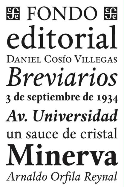 Tipógrafos mexicanos - Cristóbal Henestrosa
