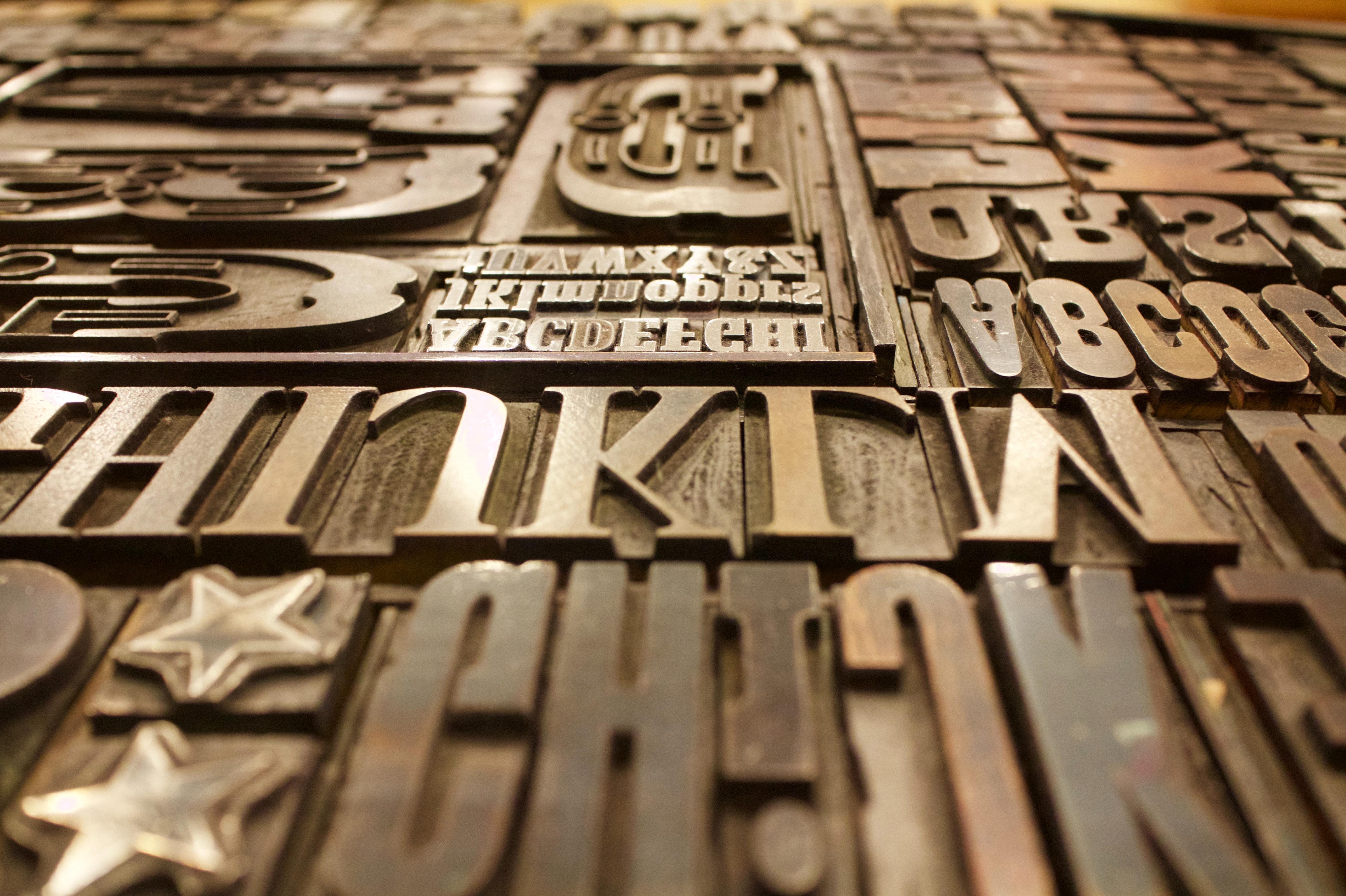 Tipografía es el arte de organizar tipos