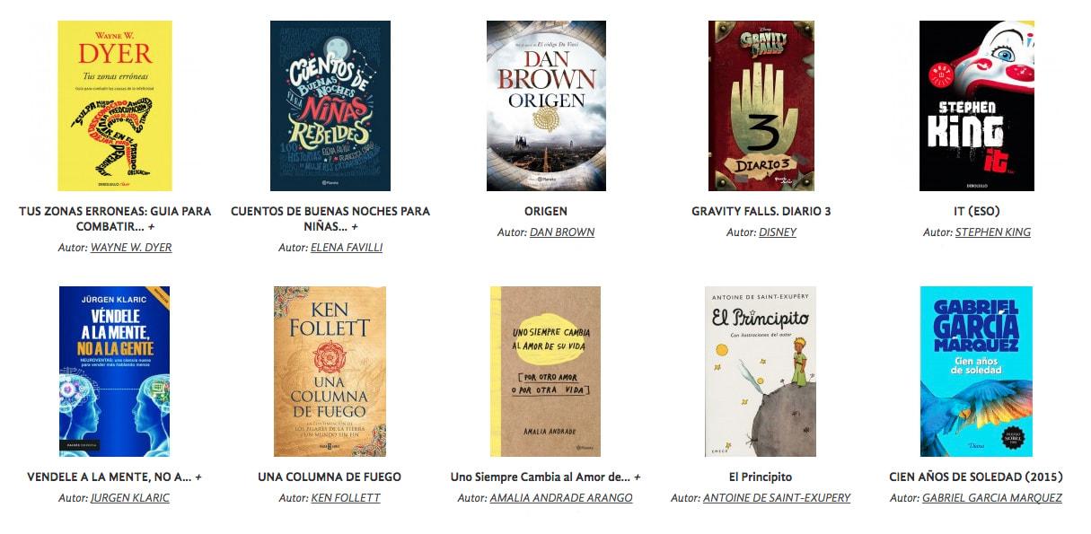 Catálogo de Librerías Gandhi