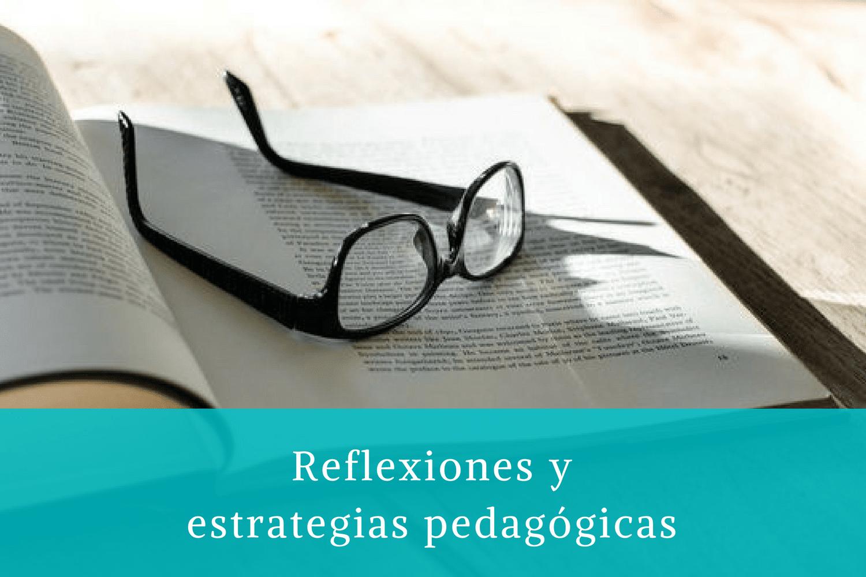 Reflexiones y estrategias pedagógicas