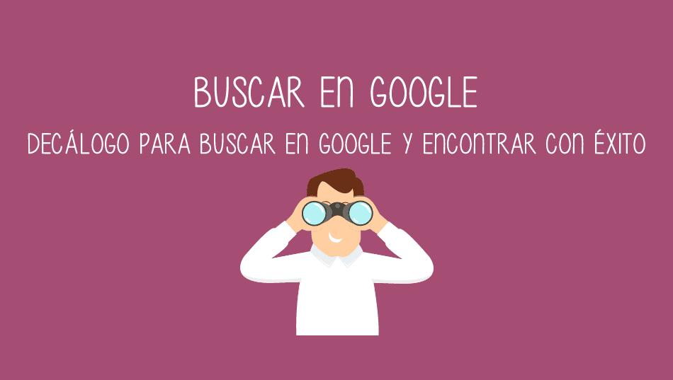 """""""10 Trucos para buscar en Google y encontrar con éxito"""", del blog de Cristic"""