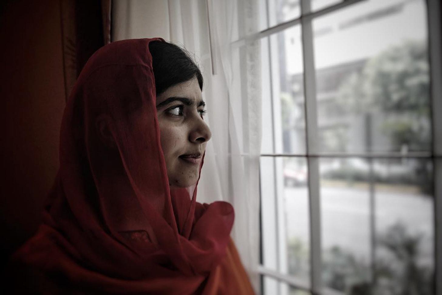 Malala, por Sáshenka Gutiérrez