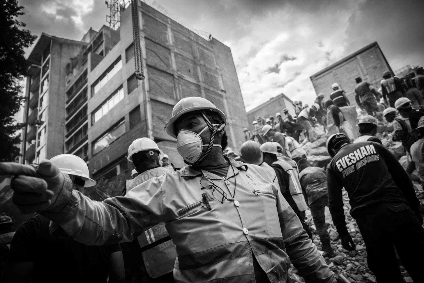 Fotografías del sismo del 19 de septiembre, por Pedro Mera