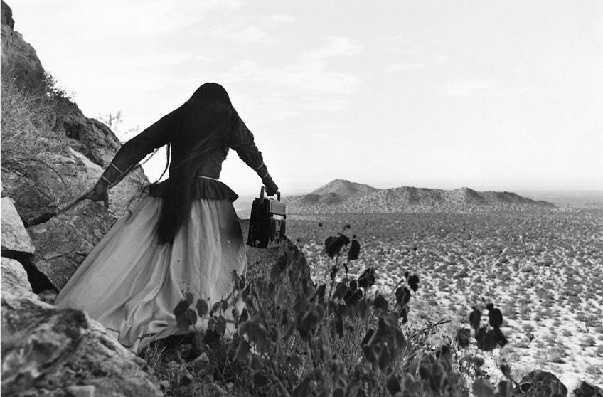 Mujer Ángel, por Graciela Iturbide