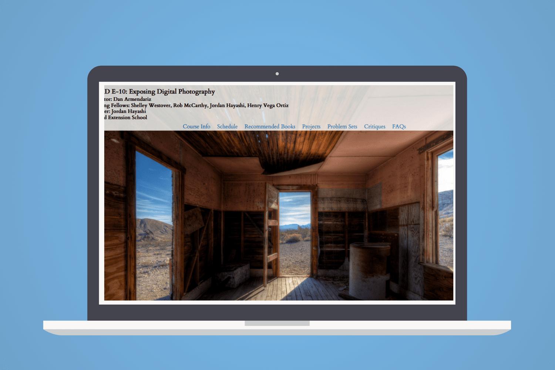 Exposing Digital Photography, clase en línea con Dan Armendariz
