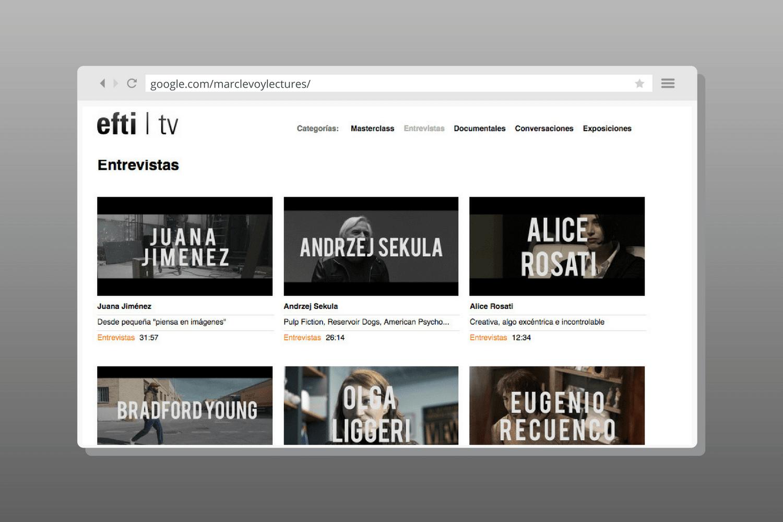 Visual Training, curso gratuito online del EFTI