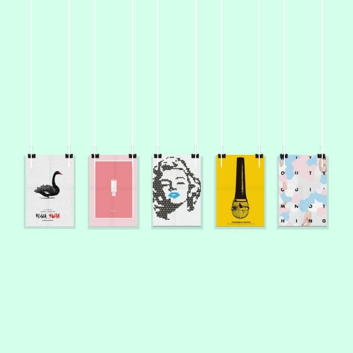 50 Impresionantes pósters para inspirar tu próximo diseño