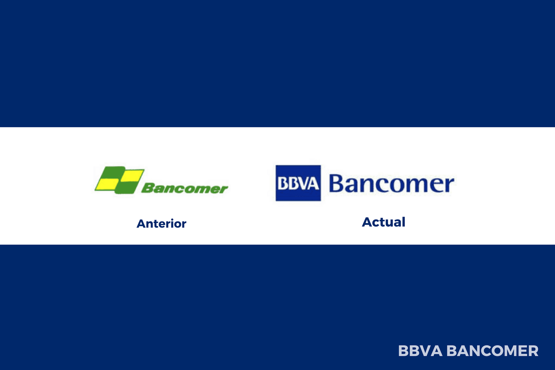 Evolución del logotipo de Bancomer