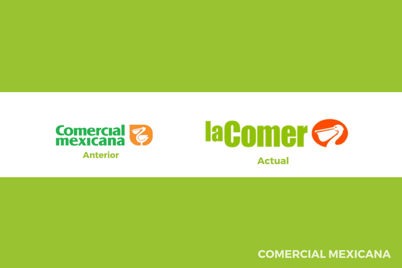 Evolución del logotipo de Comercial Mexicana