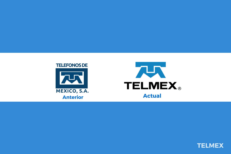 Evolución del logotipo de Telmex
