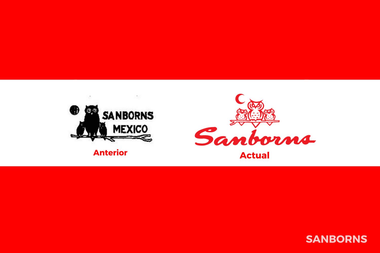 Evolución del logotipo de Sanborns