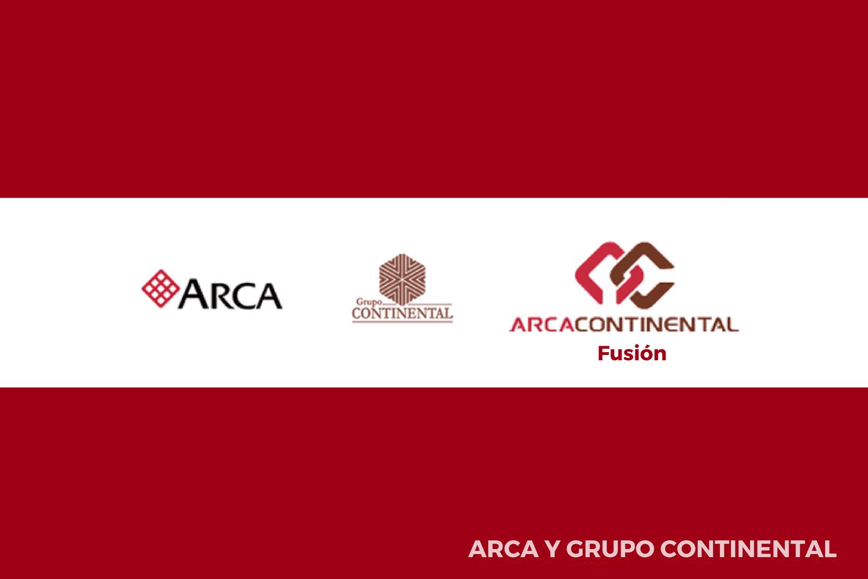 Evolución del logotipo de Arca Continental