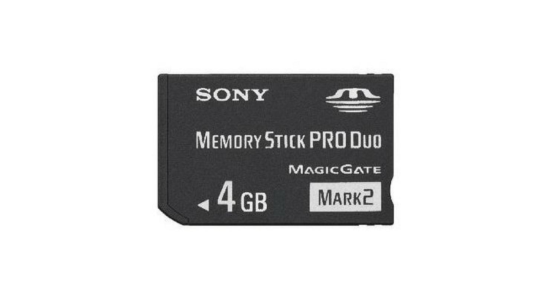 Tarjeta Memory Stick