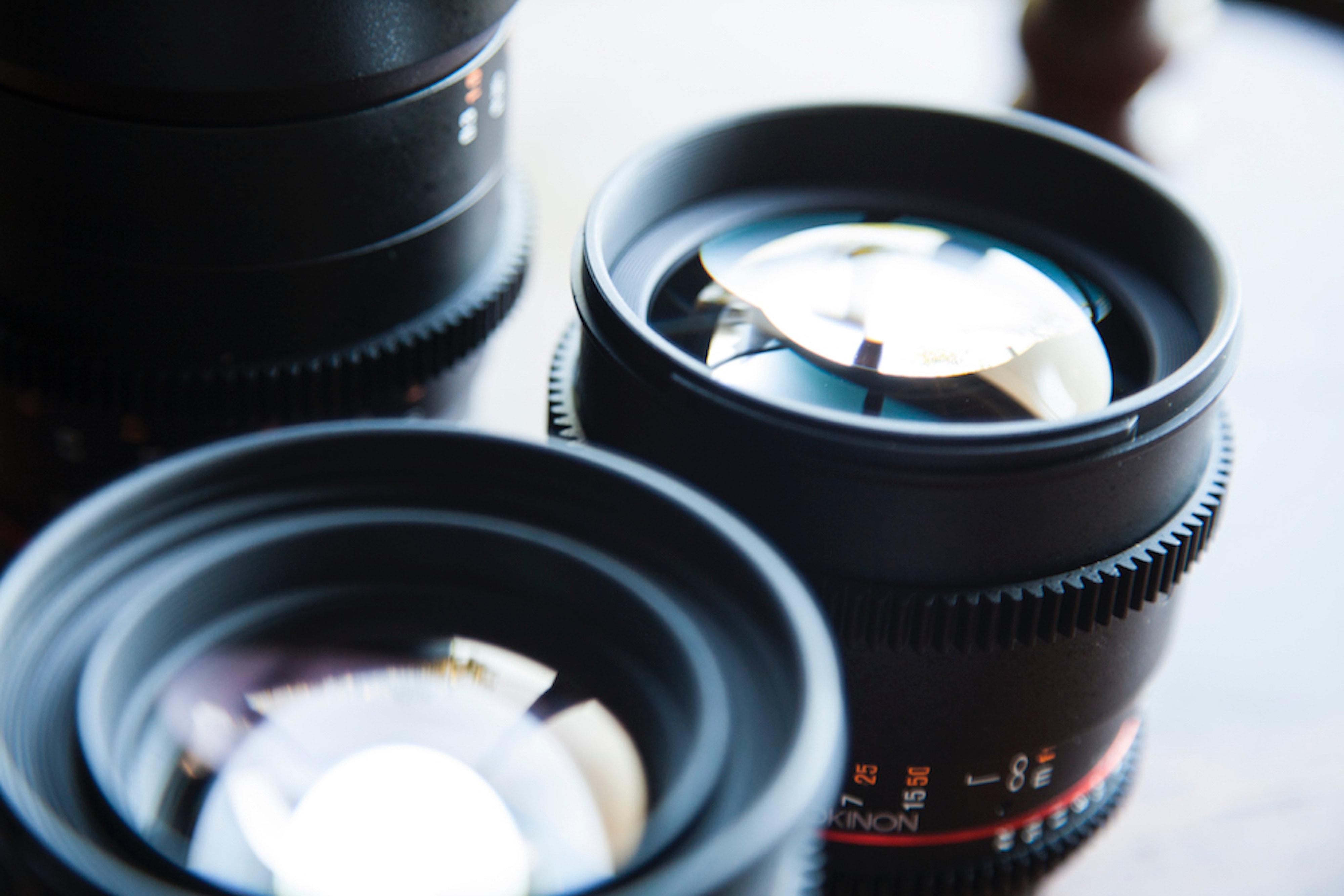 Tipos de objetivos en relación a la distancia focal