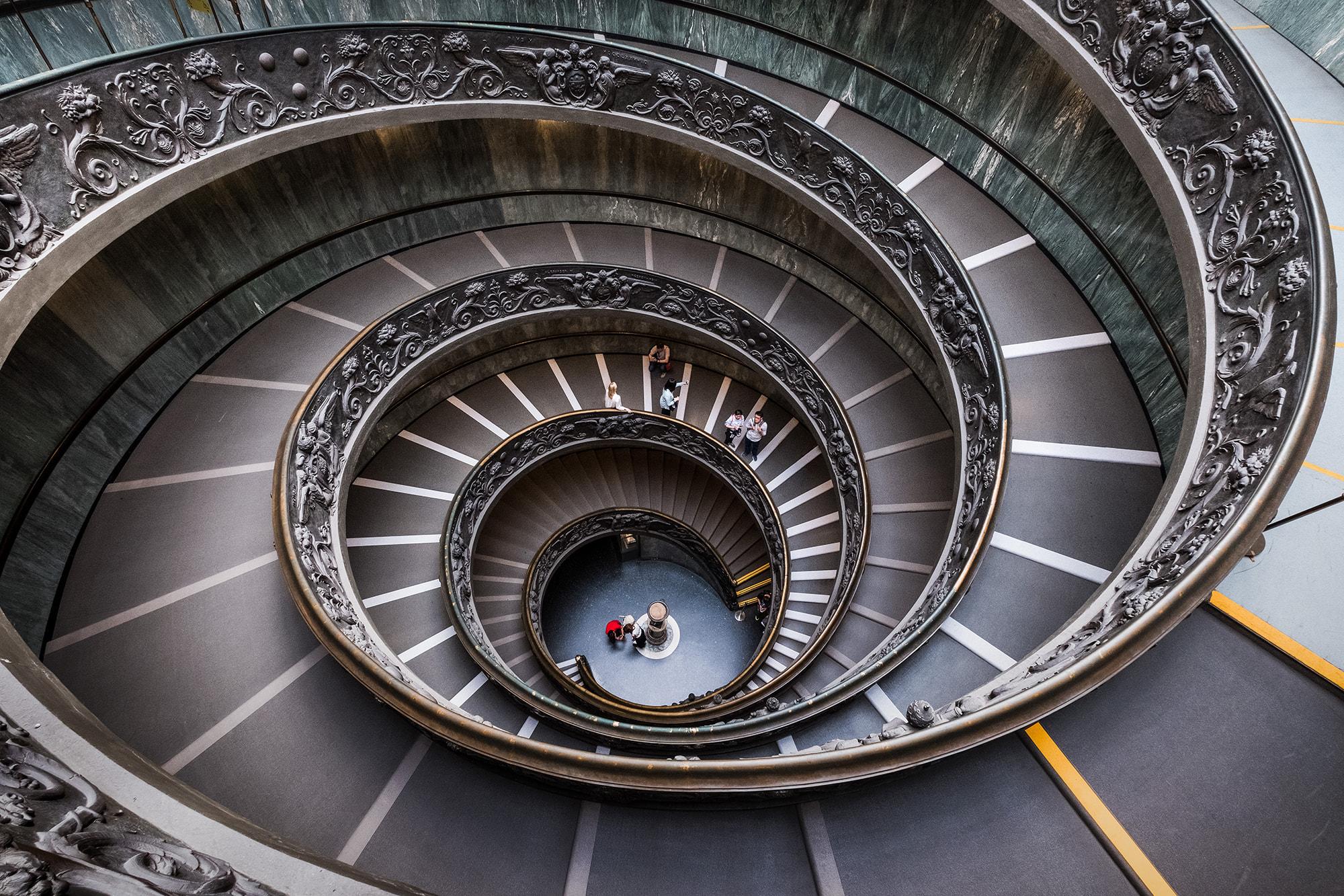 El gran angular da amplitud en las fotos de arquitectura