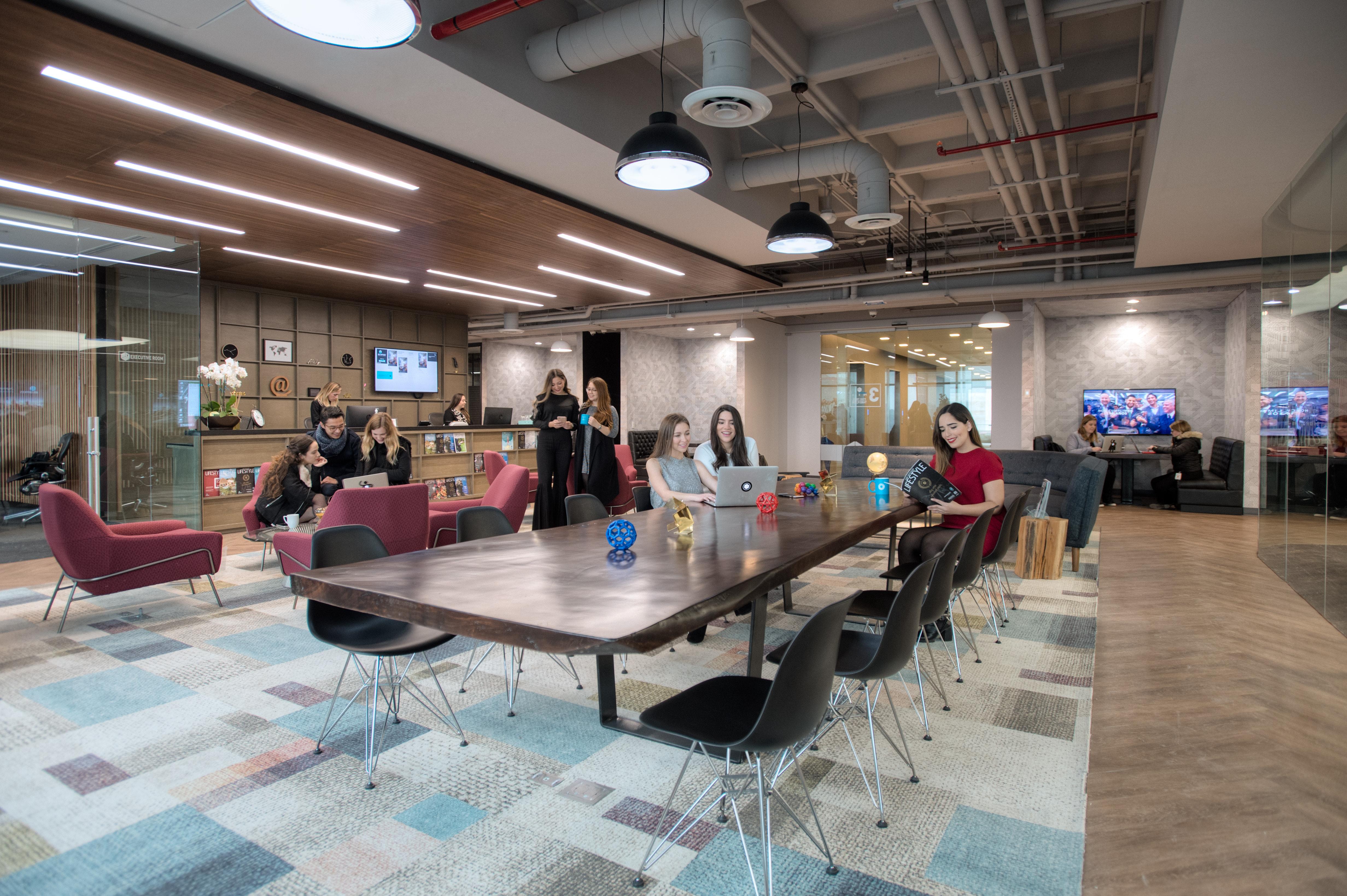 IOS OFFICES, espacios de coworking en México