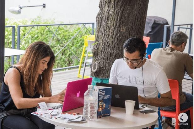Centraal, coworking en la Condesa